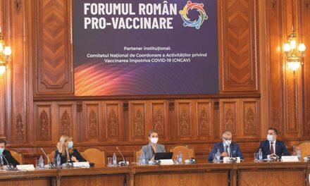 Forumul Român Pro-Vaccinare: Platformă de dialog pentru specialiştii din sănătate şi asociaţiile de pacienţi
