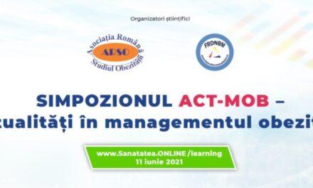 Simpozionul ACT-MOB – Actualități în managementul obezității