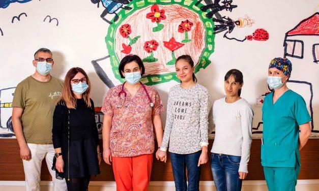 Premieră la SJU Sfântu Gheorghe: minoră cu mielită transversă, tratată cu plasmafereză
