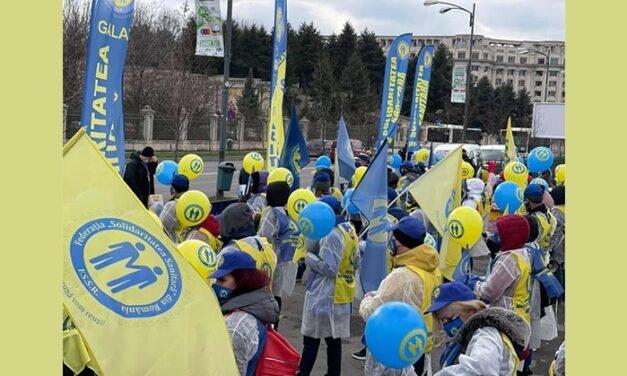 """Federaţia """"Solidaritatea Sanitară"""": lucrătorii din Sănătate trebuie sprijiniţi"""