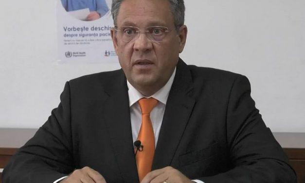 Sorin Ungureanu (ANMCS): Fără infrastructură adecvată, nu se poate asigura nici siguranţa pacienţilor, nici a personalului medical