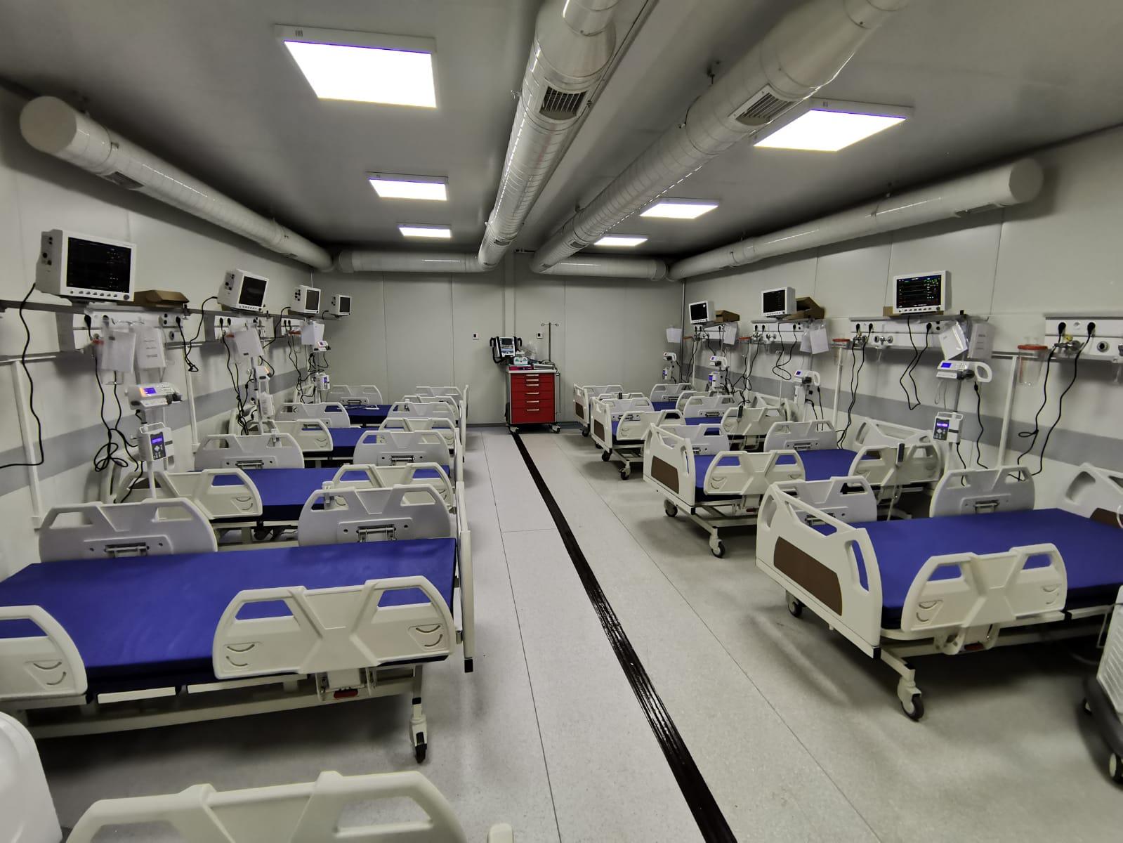 Consiliul Judeţean Iaşi a aprobat trecerea Spitalului Mobil Leţcani în administrarea ISU