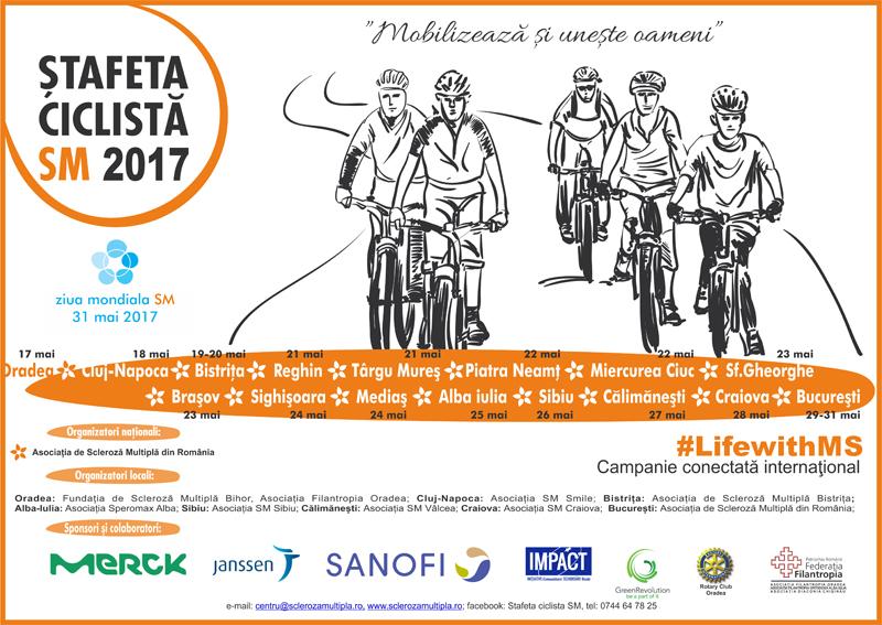 Eveniment itinerant dedicat pacienților afectați de scleroza multipla