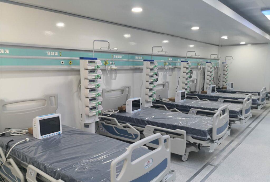 Unitatea Mobilă de Terapie Intensivă de la SJU Suceava a fost dată în folosinţă