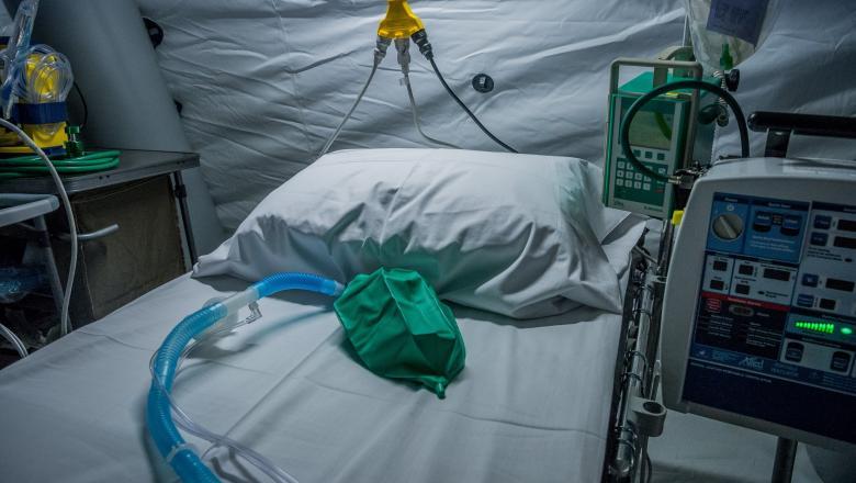 """Timiş: Unitate de terapie intensivă mobilă cu 12 paturi – amplasată în curtea Spitalului """"Victor Babeş"""""""