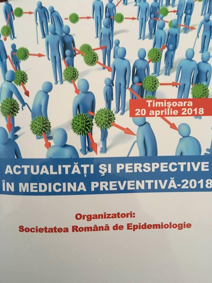 """Simpozion Regional """"Actualități și perspective în Medicina Preventivă"""" la Timișoara"""