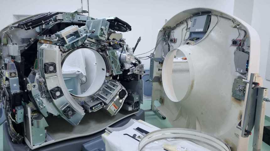 Spitalul 'Victor Babeş' Timişoara reia evaluarea imagistică, după ce computerul tomograf a fost reparat