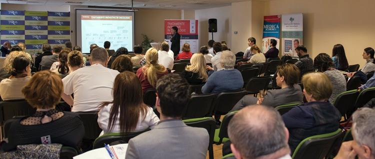 """""""Analiza moleculară și terapia personalizată în cancer"""" – tema centrală a conferinței """"Tratamente Inovative în Oncologie"""""""