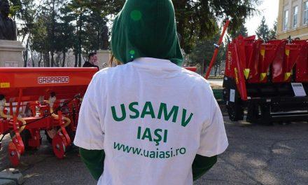 Studenții USAMV Iași fac mobilizare pentru vaccinare