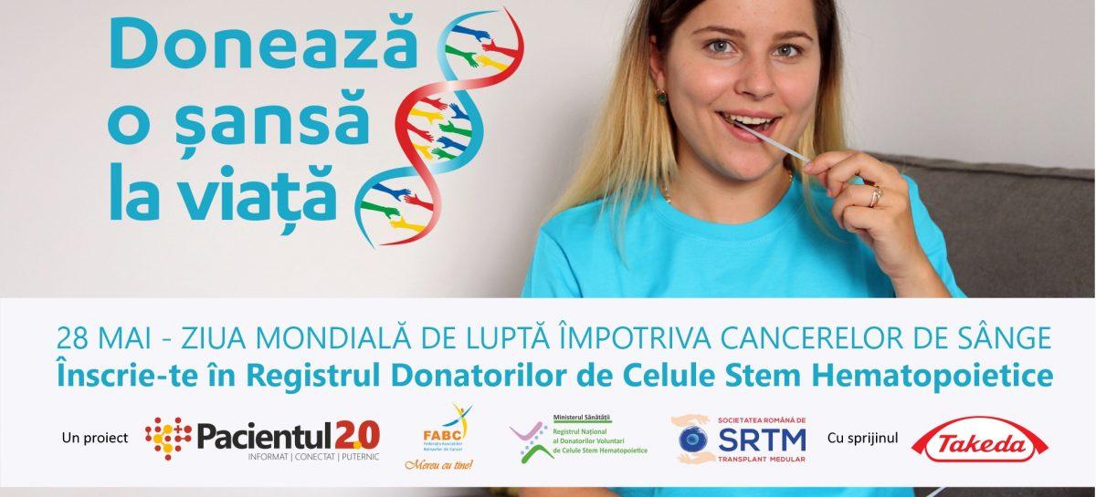 Ziua Mondială de Luptă împotriva Cancerelor de Sânge: Donează o șansă la viață
