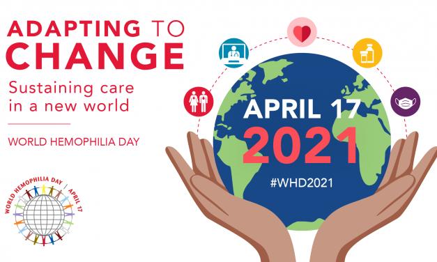 Ziua Mondială a Hemofiliei – 17 aprilie 2021
